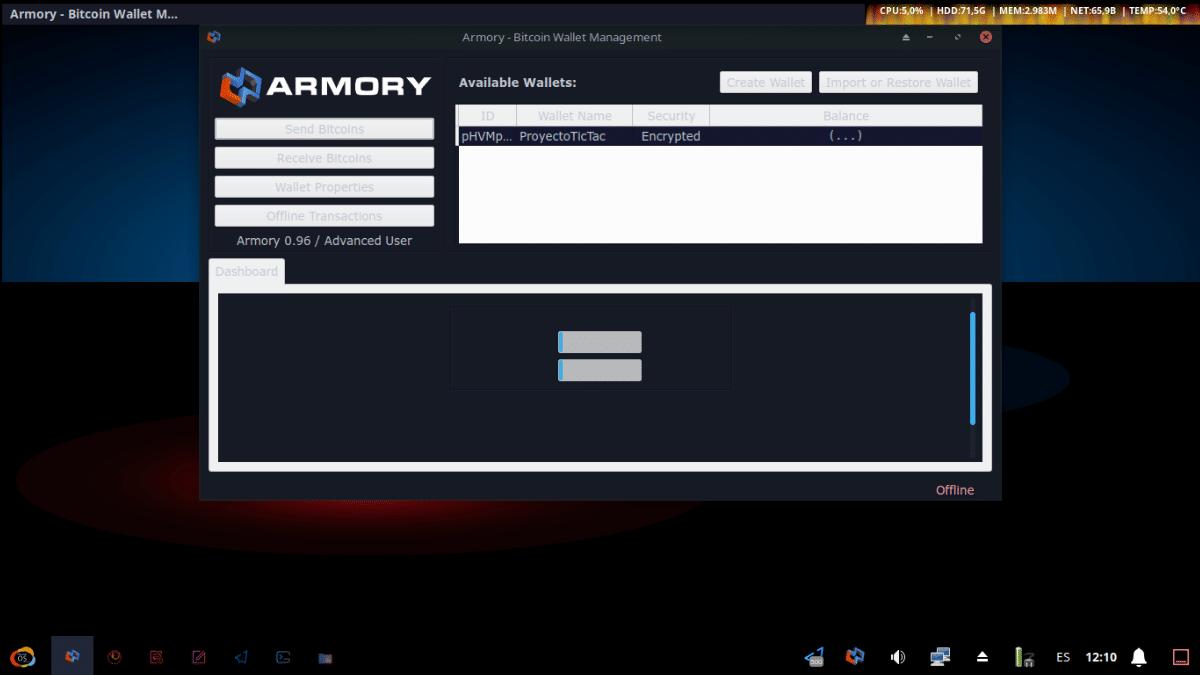 Armory - Pantallazo 2