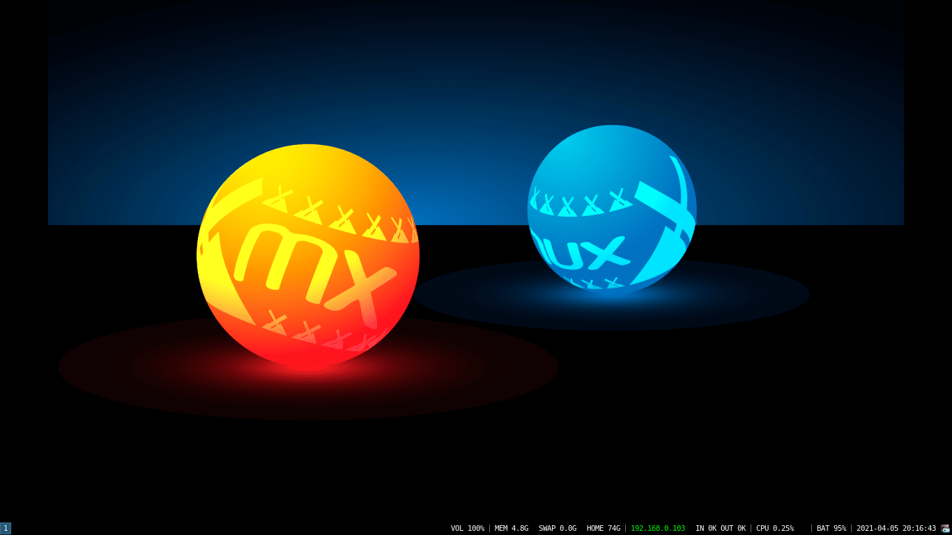 MilagrOS GNU/Linux 2.3 (3DE4) Ultimate con I3WM