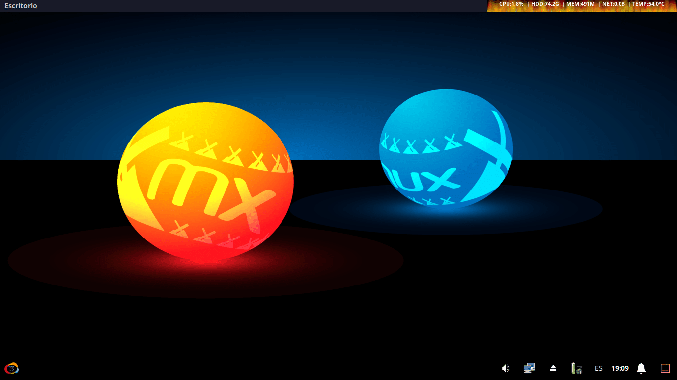 MilagrOS GNU/Linux 2.3 (3DE4) Ultimate con XFCE