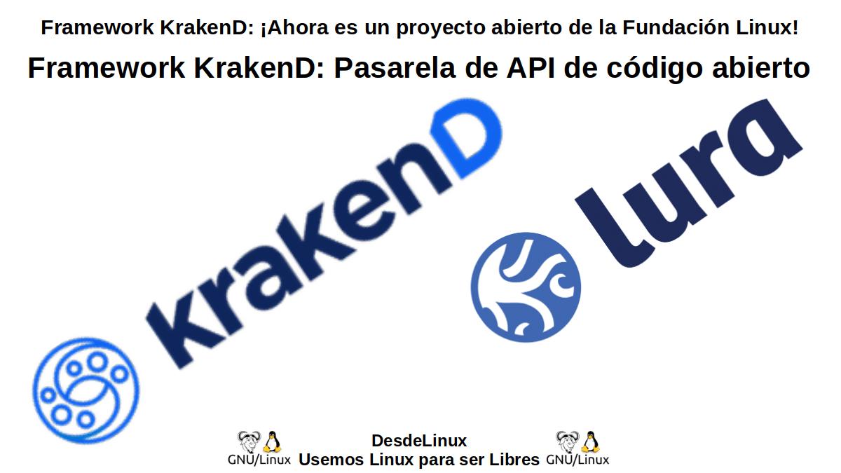 Framework KrakenD: Pasarela de API de código abierto