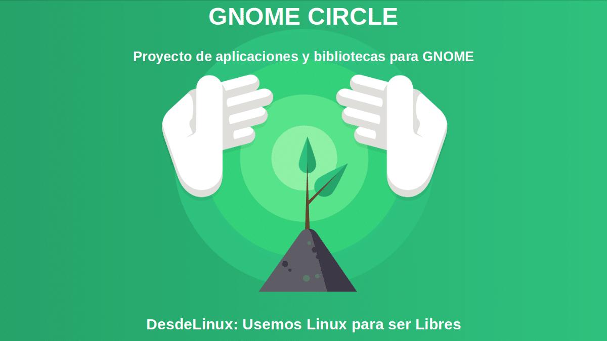GNOME CIRCLE: Proyecto de aplicaciones y bibliotecas para GNOME