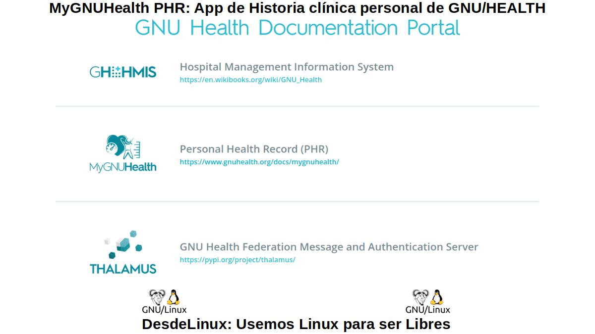 GNU/Health y demás proyectos
