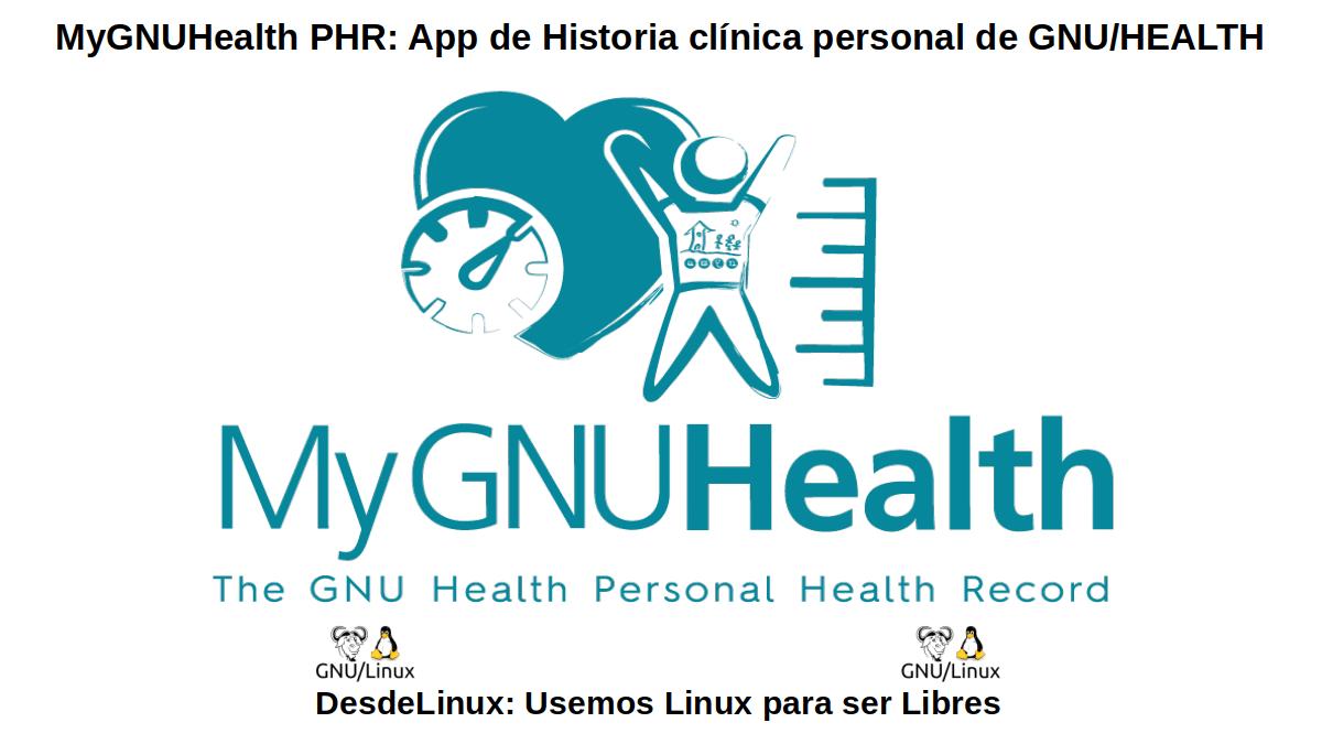 MyGNUHealth PHR (Personal Health Record)