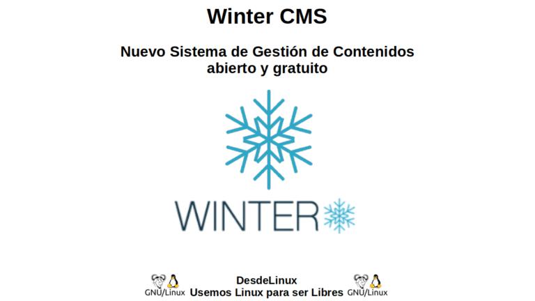 Winter CMS: Nuevo Sistema de Gestión de Contenidos abierto y gratuito