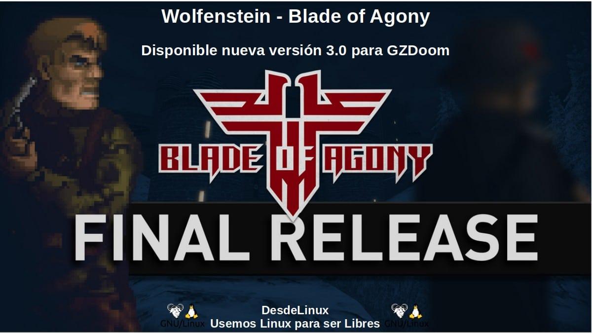 Wolfenstein - Blade of Agony: Disponible nueva versión 3.0 para GZDoom