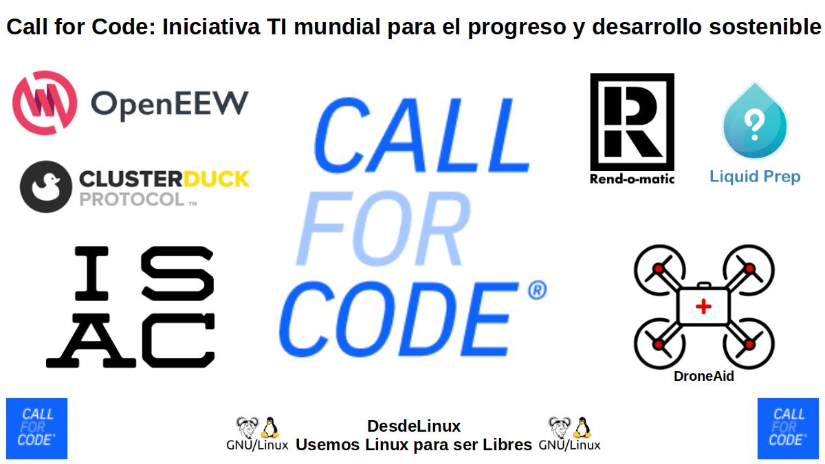 Call for Code: Llamada al código con la Fundación Linux