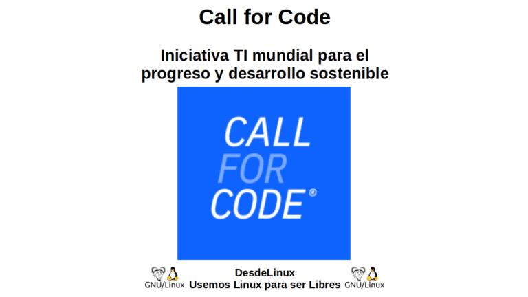 Call for Code: Global IT Initiative fir Fortschrëtt an Nohalteg Entwécklung