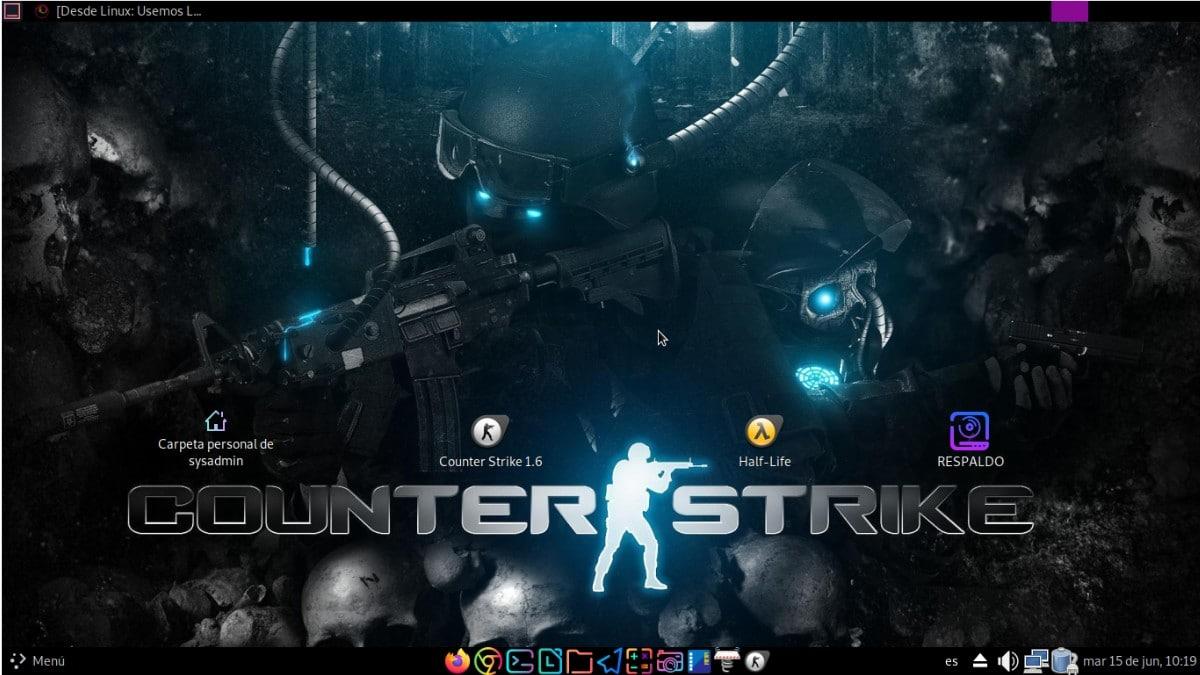 Instalando Counter Strike 1.6 mediante AppImage