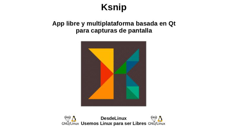 Ksnip: App libre y multiplataforma basada en Qt para capturas de pantalla