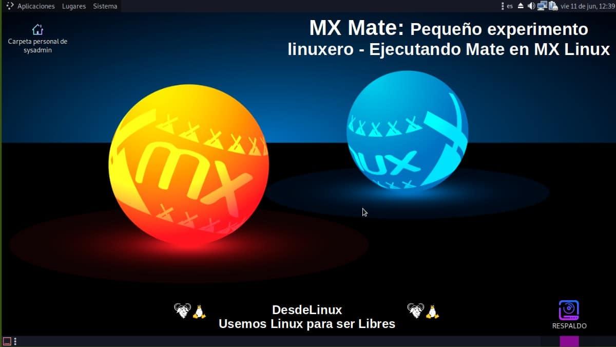 MX Mate: Pantallazo 1