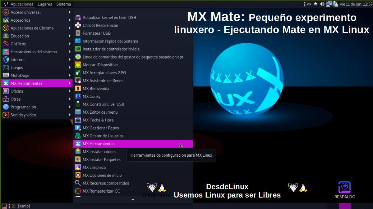 MX Mate: Pantallazo 2