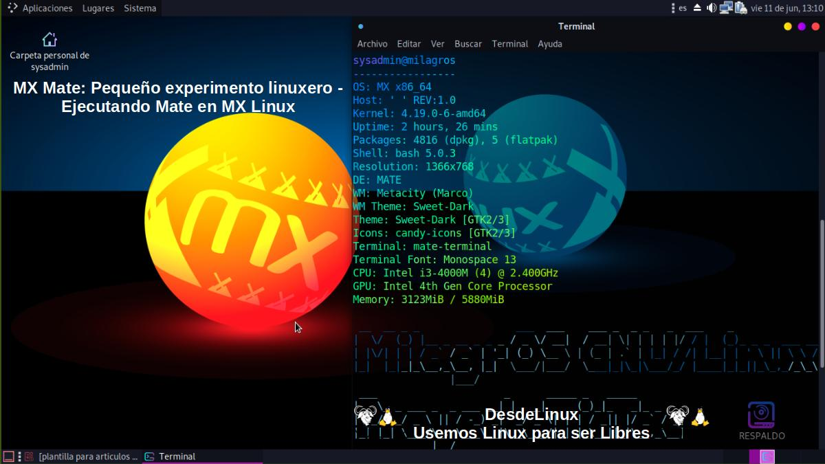 MX Mate: Pantallazo 5