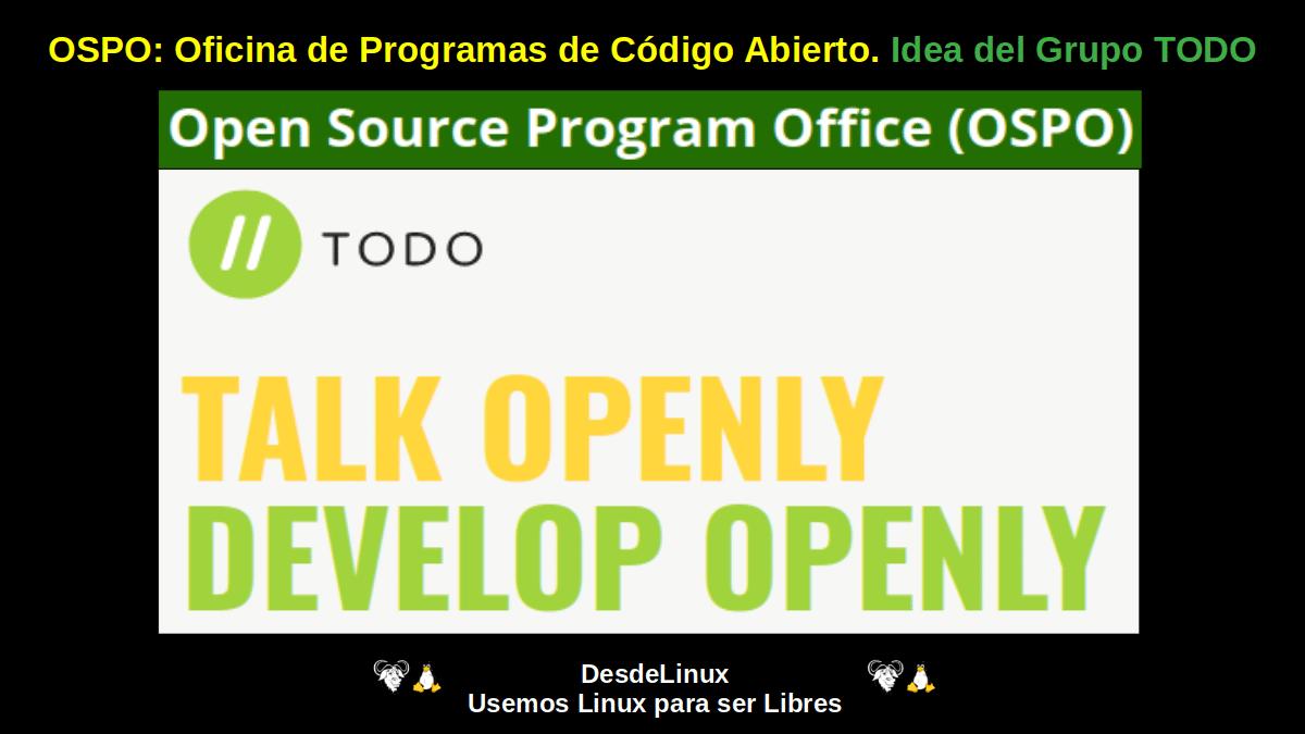 OSPO (Open Source Program Office)