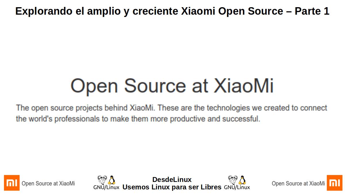 XOS-P1: Xiaomi Open Source – Parte 1
