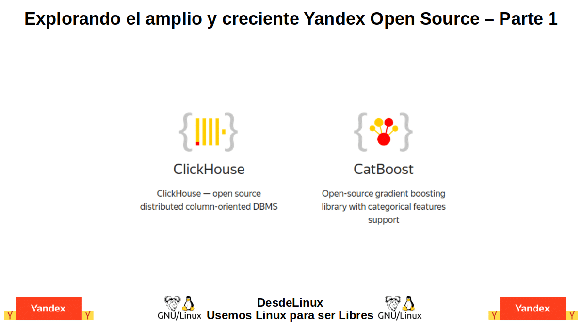 YxOS-P1: Yandex Open Source – Parte 1
