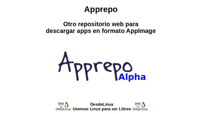 Apprepo: Otro repositorio web para descargar apps en formato AppImage