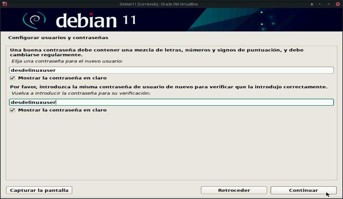 Debian 11 Bullseye: Pantallazo 12