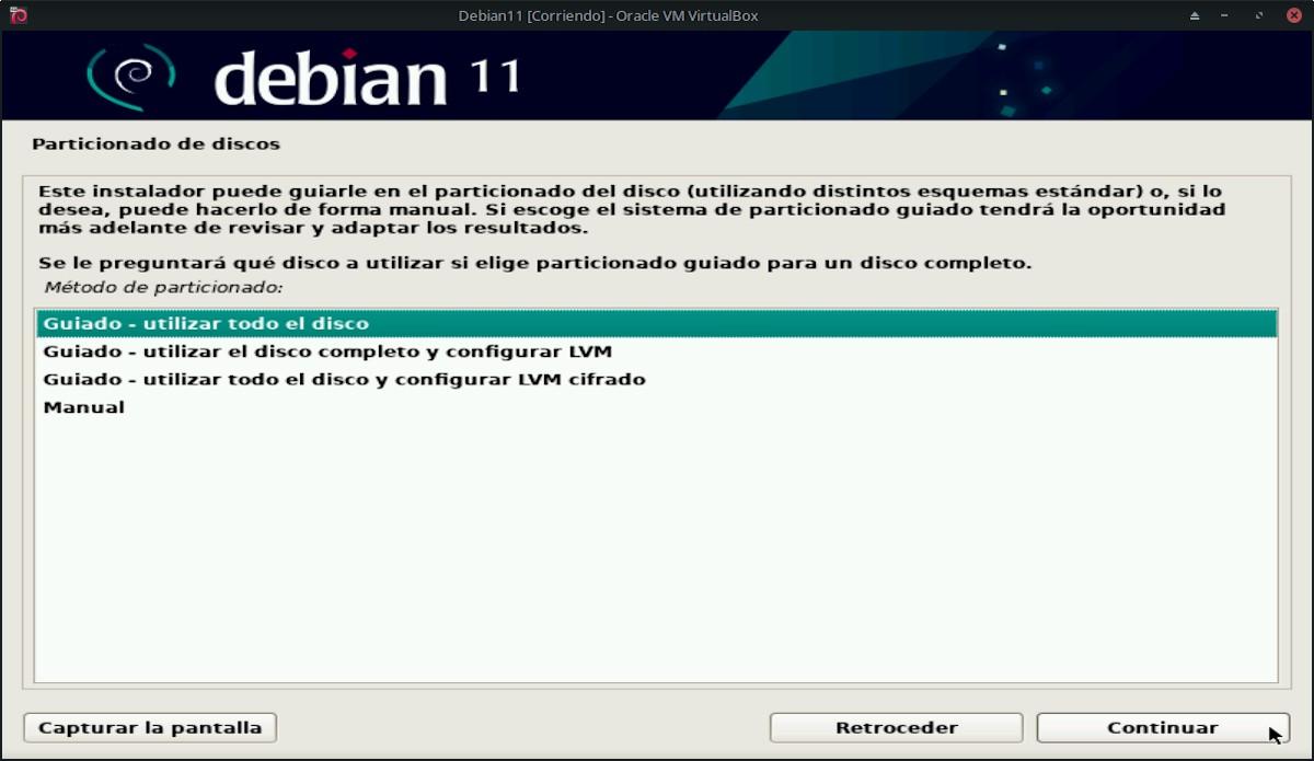 Debian 11 Bullseye: Pantallazo 14