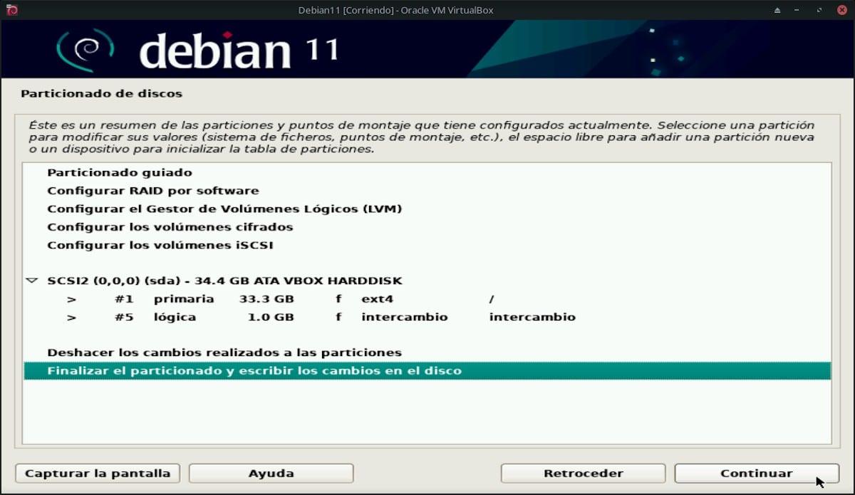 Debian 11 Bullseye: Pantallazo 17