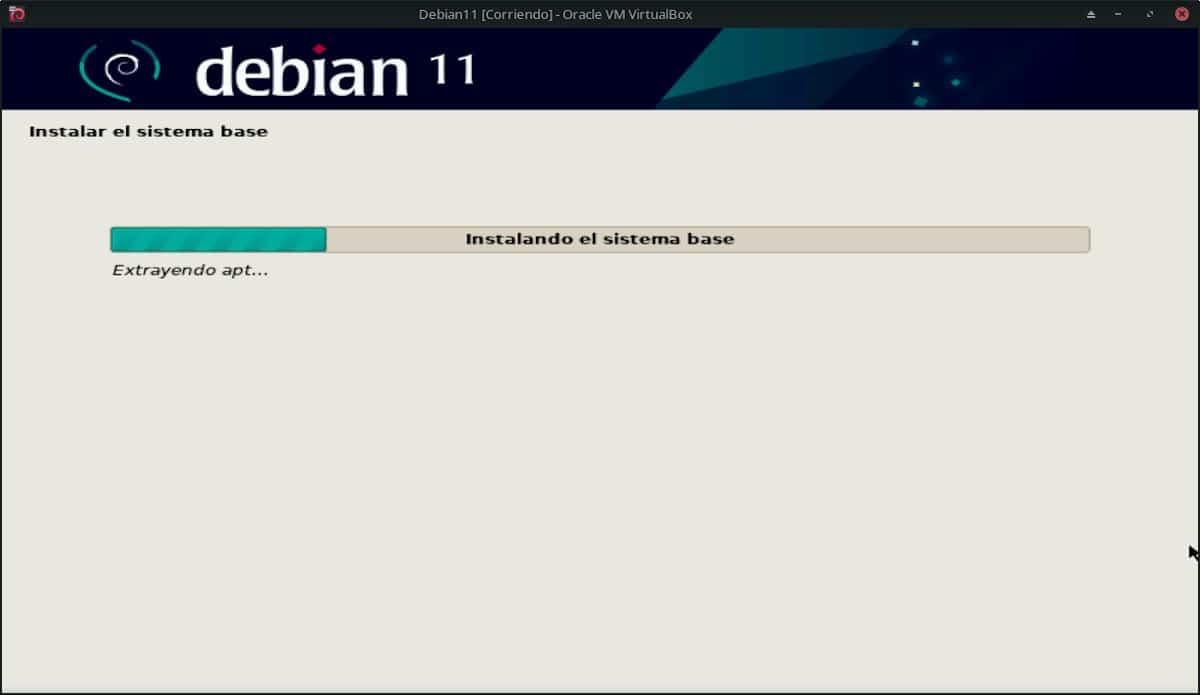 Debian 11 Bullseye: Pantallazo 19