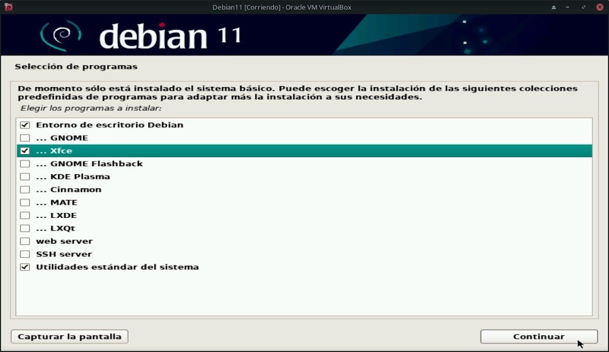 Debian 11 Bullseye: Pantallazo 23
