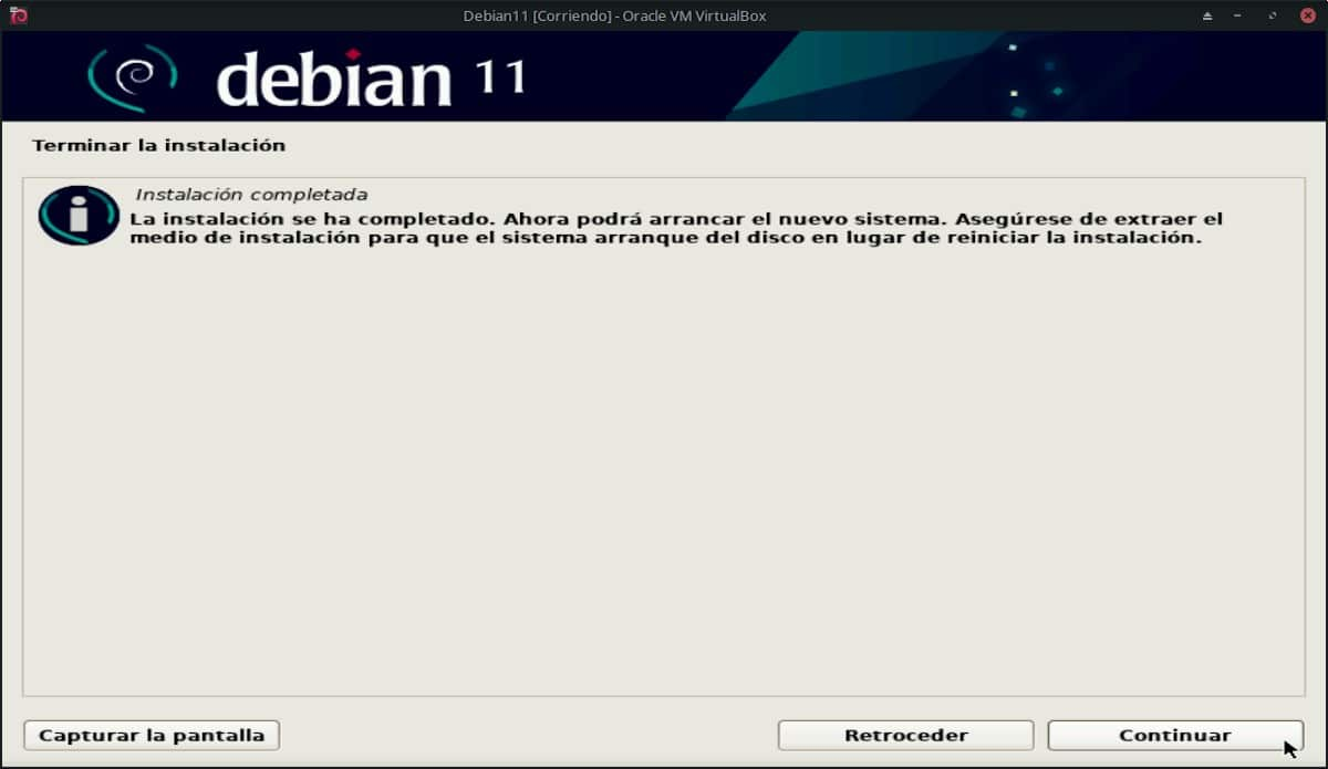 Debian 11 Bullseye: Pantallazo 28