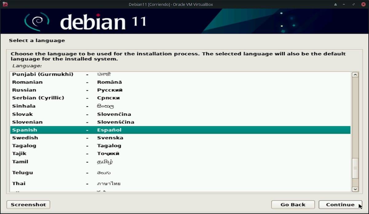 Debian 11 Bullseye: Pantallazo 4