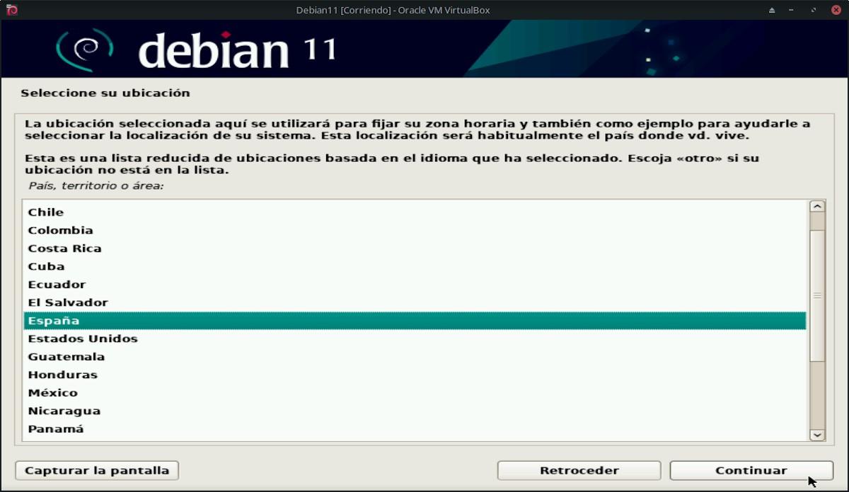 Debian 11 Bullseye: Pantallazo 5