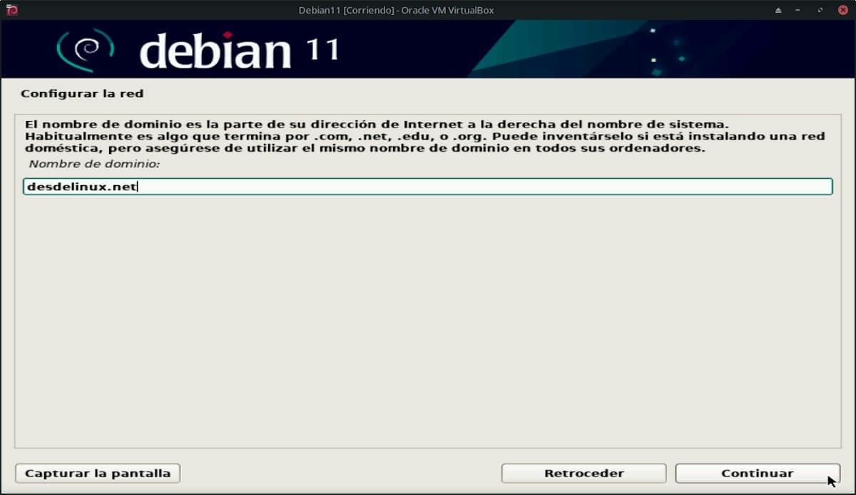 Debian 11 Bullseye: Pantallazo 8