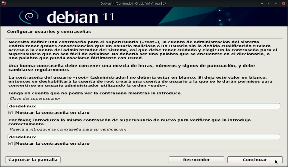 Debian 11 Bullseye: Pantallazo 9