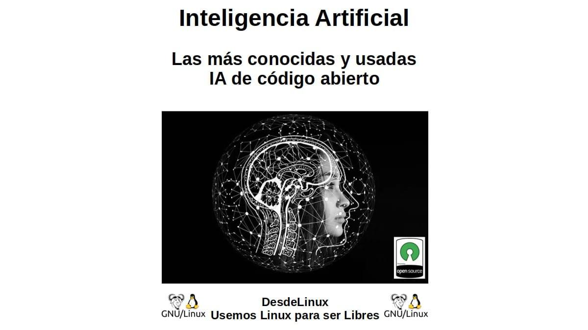 Inteligencia artificial: Las más conocidas y usadas IA de código abierto