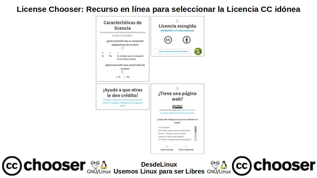 License Chooser: Versión Estable