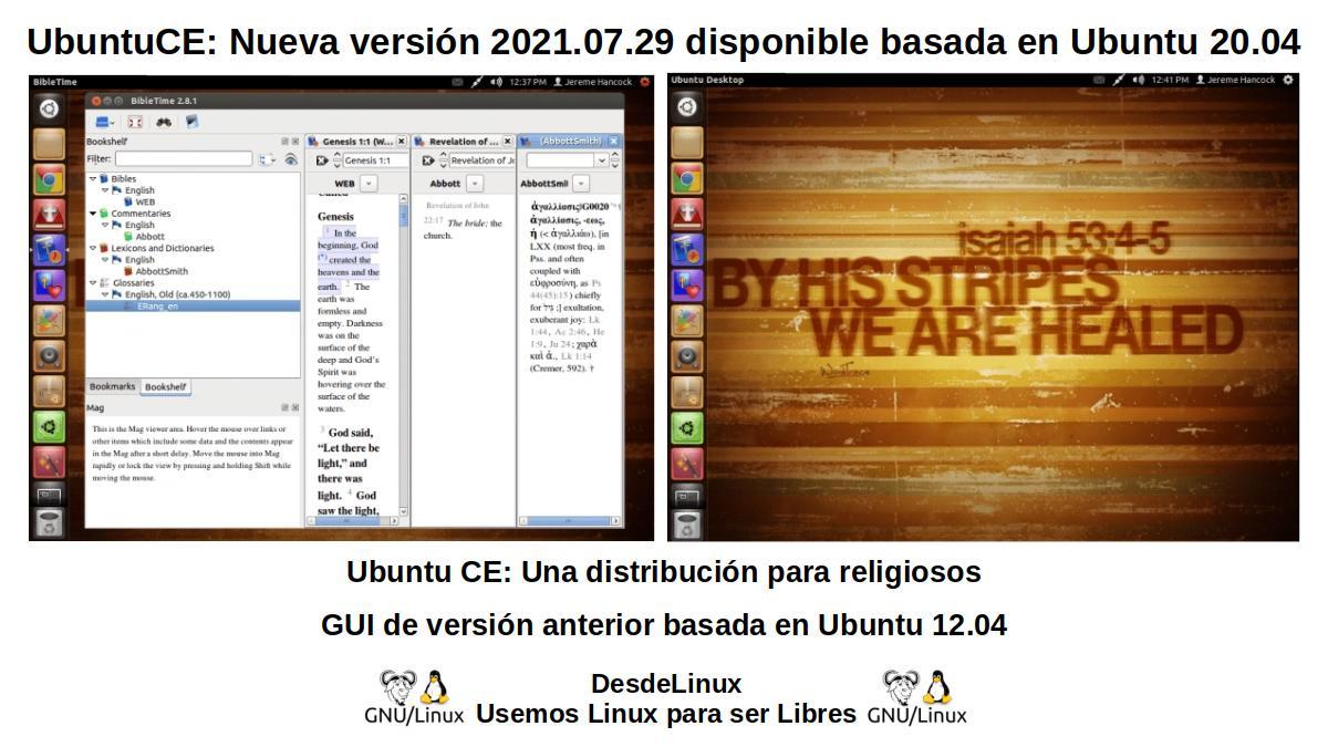 UbuntuCE: GUI anterior de versión basada en Ubuntu 12.04