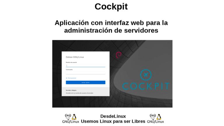 Cockpit: Aplicación con interfaz web para la administración de servidores