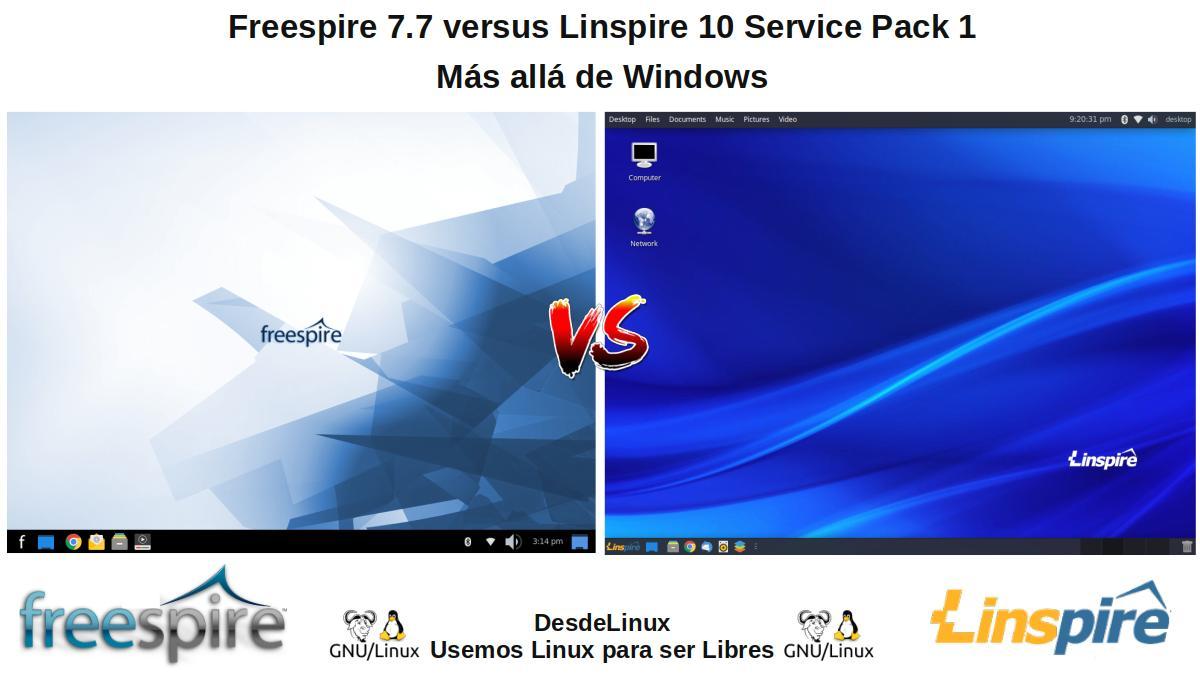 Freespire vs Linspire