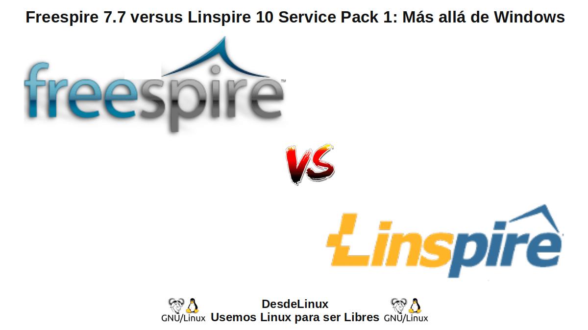 Freespire 7.7 y Linspire 10 SP1: Nuevas versiones para el 2021