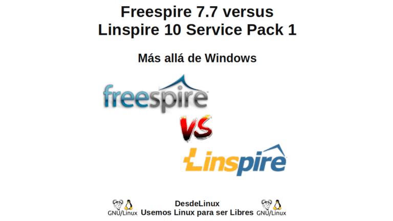 Freespire 7.7 versus Linspire 10 Service Pack 1: Más allá de Windows