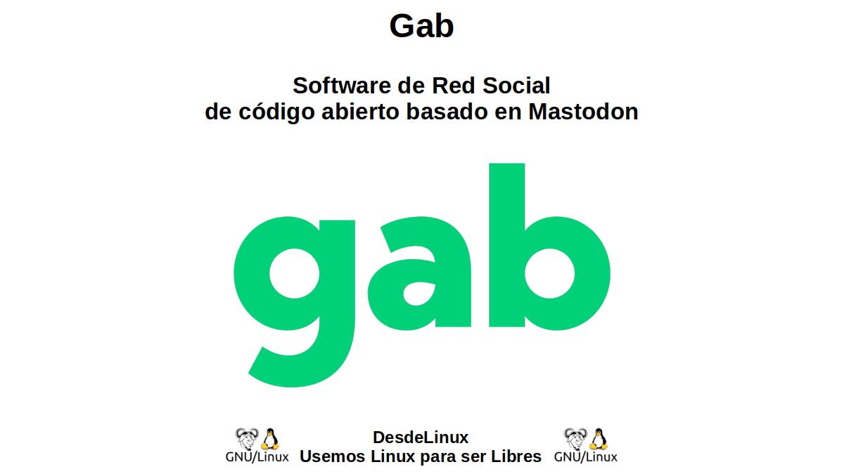 Gab: Software de Red Social de código abierto basado en Mastodon