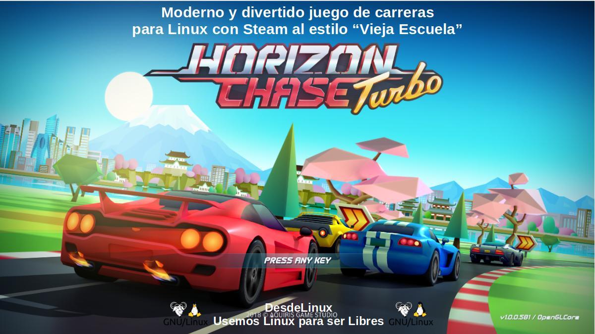 Horizon Chase Turbo: Moderno juego de carreras al estilo Vieja Escuela