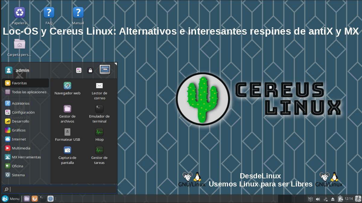 ¿Qué es Cereus Linux?