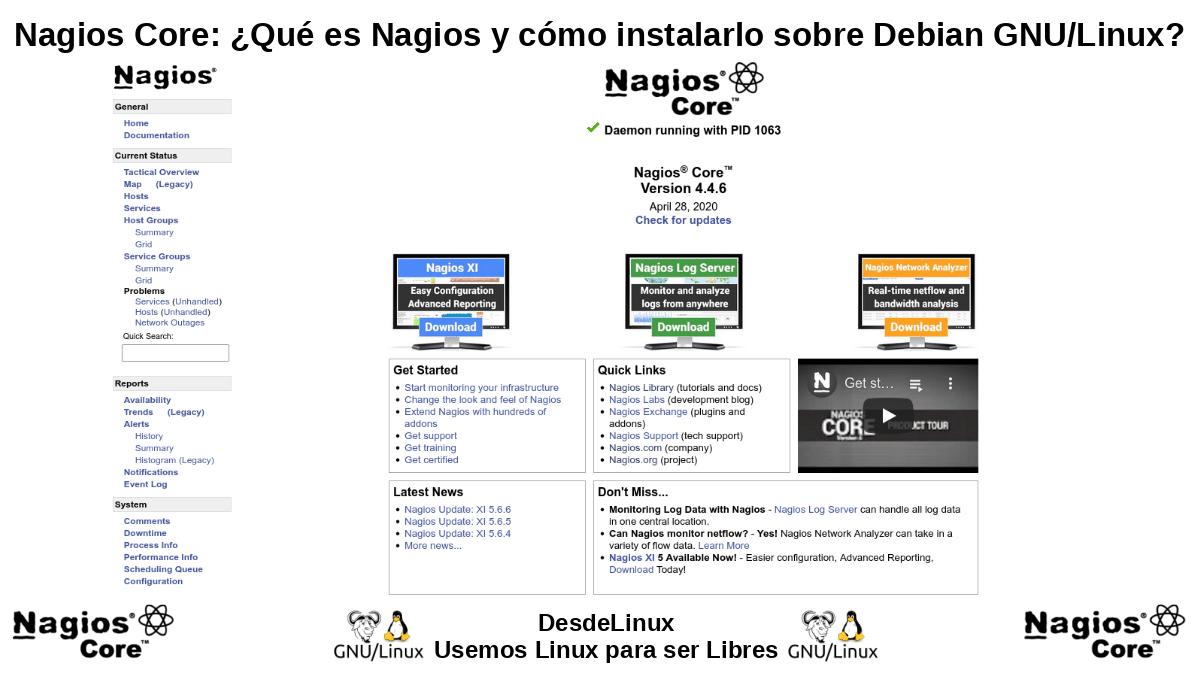 Nagios Core: Versión libre y gratuita de Nagios