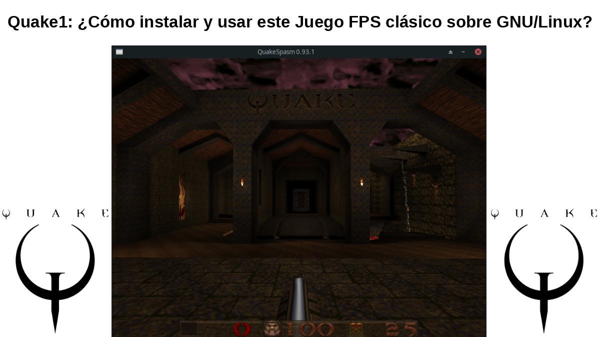 Quake: Un digno juego FPS tipo vieja escuela para volver a jugar