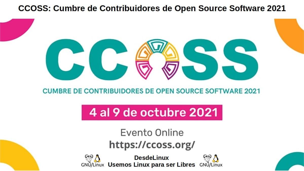 CCOSS 2021: Del 4 al 9 de octubre 2021