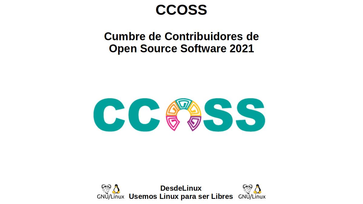 CCOSS: Cumbre de Contribuidores de Open Source Software 2021