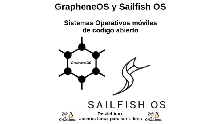 GrapheneOS y Sailfish OS: Sistemas Operativos móviles de código abierto