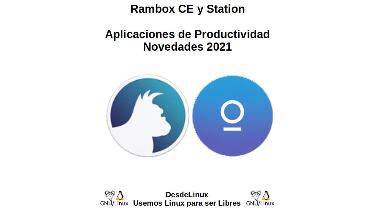 Rambox CE y Station: Aplicaciones de Productividad - Novedades 2021