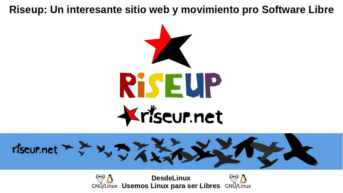 Riseup: Movimiento pro Software Libre