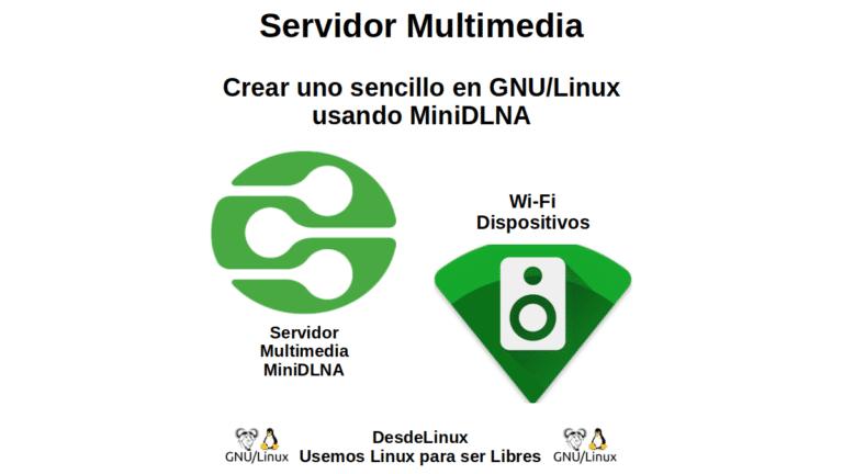 Servidor Multimedia: Crear uno sencillo en GNU/Linux usando MiniDLNA