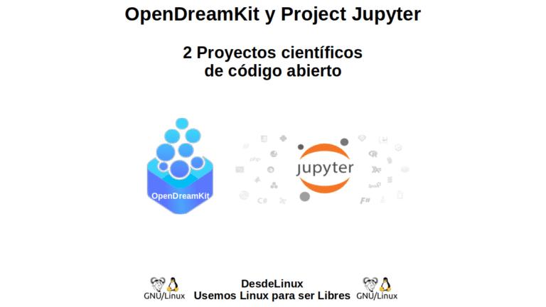 OpenDreamKit y Project Jupyter: 2 Proyectos científicos de código abierto